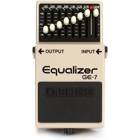 Pedal Boss Equalizer Ge7 Boss Guitarra + Nfe + Garantia