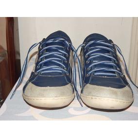 Sapato Sapatênis Poney Azul Tam: 48 - Palmilha 33 Cm