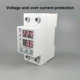 Protector De Tension Baja/alta 220 Volts 63a Display Program
