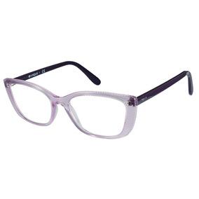 9abb02589e226 Oculos De Grau Feminino Bvlgari - Óculos Lilás no Mercado Livre Brasil