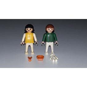 Brinquedo Bonecos Playmobil Série Beach