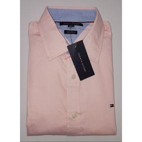 Camisa Tommy Hilfiger Rosada Lineas - Camisas de Hombre en Mercado ... e71350955e9