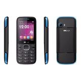 Celular Blu Zoey 2.4 3g 2 Chip Camera+flash Zo70l Black/blue