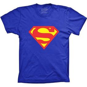 Camiseta Superman Feminina - Camisetas Manga Curta no Mercado Livre ... 40e71fd59ec