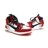 Tenis-bota Nike A Ir Jordan 1 Lançamento De Couro Na Caixa