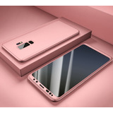 Capa Case Capinha 360 Para Galaxy S9 / S9 Plus+película Gel