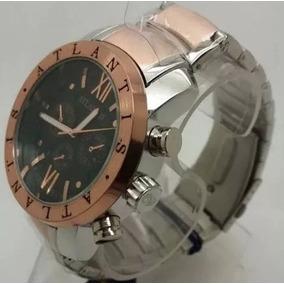 227d7863cd6 Relógio Bvl Masculino Dourado Automático Frete Gratis. São Paulo · Relogio  Atlantis Original Misto Rosê A3310  bvl Analogic