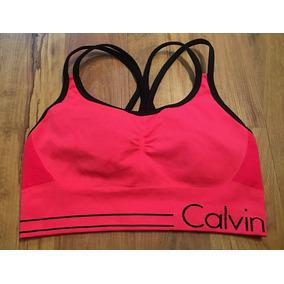 1369ea3192126 Top Deportivo Calvin Klein Performance Neon Bicolor Quick S!