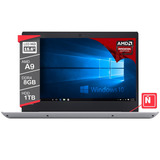 Notebook Lenovo Ideapad 320s Amd A9 8gb 1tb 15,6 Windows 10