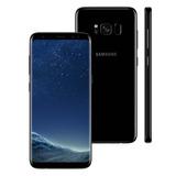 Galaxy S8 Preto 64gb Dual Chip, Tela 5.8