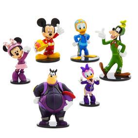 Miniaturas Bonecos Mickey Aventura Sobre Rodas Disney Store