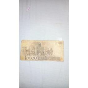 Nota Antiga Rara Dez Mil Cruzeiros