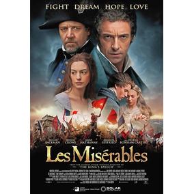 Cartaz Poster Decoração Os Miseráveis Filme Pintura Digital