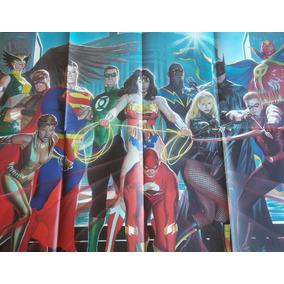 Poster Liga Da Justiça Panini Loja De Coleções