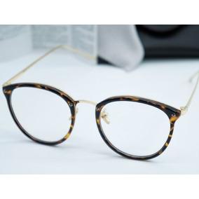Armacao De Oculos Feminino Oncinha Geek Metal - Calçados, Roupas e ... 9febbcf101