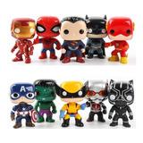 Juguete Tipo Funko Pop Cabezones Avengers Liga Toy Story