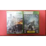 Battlefield 4 Y Halo 4 - Xbox 360