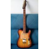 Guitarra Telecaster Araucária Malagoli Custom Rk Orange Drop