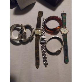Lote 7 Relógios Antigos Dumont/vivani/entre Outros...