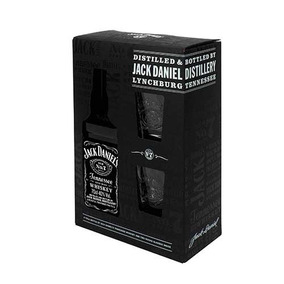 Kit Jack Daniels Old N7 Com 2 Copo 750ml
