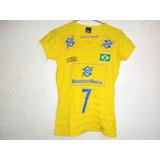 Camisa Seleção Brasileira De Volei - Vôlei e Handebol no Mercado ... 59dabfc7b31c1