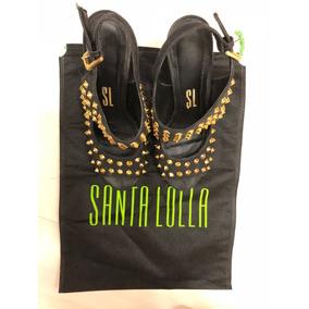 Sandália Salto Fino Santa Lolla - Tamanho 36