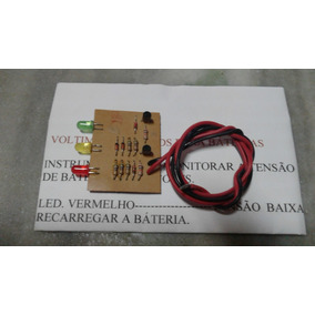 Voltimetro De Leds Para Monitorar Baterias De 12 Volts