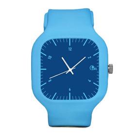 1e164943ed2 Pulseira Azul Emborrachada Masculino - Joias e Relógios no Mercado ...