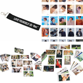 Chaveiro Bts Kpop Integrantes + 60 Photocards