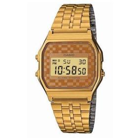 76ad7f8dc67 Relogio Feminino Digital Casio Dourado - Relógios De Pulso no ...