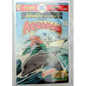 Adventure Comics Nº 443 Starring Aquaman - Jim Aparo - 1976