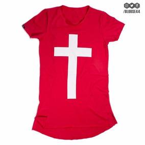 Camisa Cristã - Cruz (varias Cores) - Jesus
