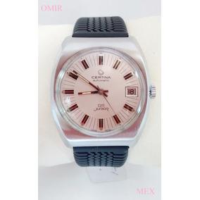 Reloj Certina Ds Automatico Suizo Vintage Acero