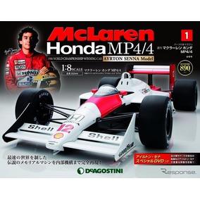 Peças Da Mclaren Mp4/4 De 1988 Ayrton Senna Formula 1 Und