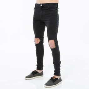 54f9d9b59e Ripped Jeans - Ropa y Accesorios Negro en Mercado Libre Argentina