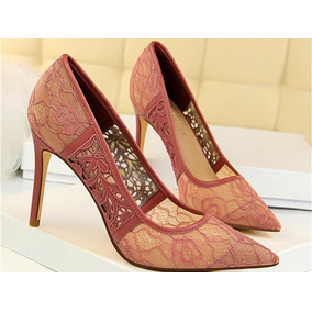 Zapatos Con Encaje Importados Para Novia - Ropa y Accesorios en Bs ... a0251a8e779