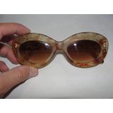 Oculos Antigo De Sol Armação Década De 70 Cód.12d.d a5db8ec977