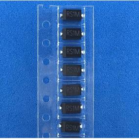 Diodo Rs1m Fr107 Do-214ac 1000v 1a (200 Unidades)