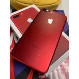 Apple iPhone 7 Plus Vermelho Red 128gb Original Caixa E Nf