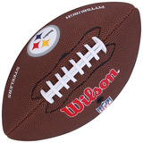 Bola De Futebol Americano Wilson Nfl Jr Pittsburgh Steelers 209be9aa36415