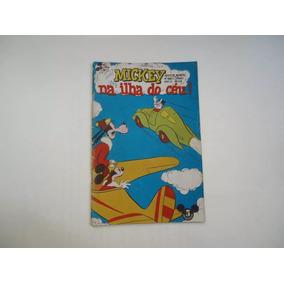 Mickey Nº 12 Abril 1953 Todo Original Mickey Na Ilha Do Céu!