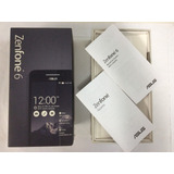 Caixa Vazia Asus Zenfone 6 A601cg 16 Gigas Preto Original