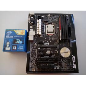 Kit Processador I7 4790k + Mobo Asus Z97e Sli + 16gb Ram Amd