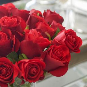 Pimpollos De Rosas Rojas Decoración Para El Hogar En Mercado Libre