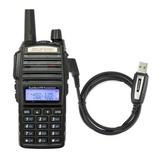 Radio Ht Dual Band Uhf Vhf Baofeng Uv-82 + Cabo Programação