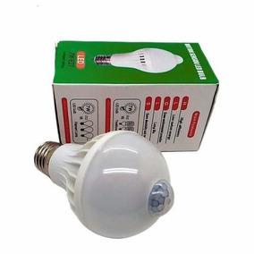 Lampada Led 7w Bivolt Com Sensor De Presenca