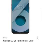 Celular Lg Q6 Prime Nuevo En Caja Con Garantía De 1 Año
