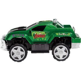 Carrinho De Controle Pick Up Do Hulk Brinquedos Mimo 3192