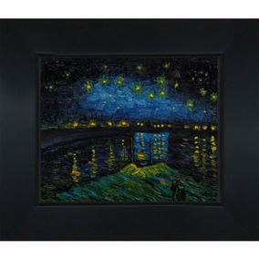 d0bf8ec77b486e Overstockart Vincent Van Gogh Starry Night Over The Rhone 8-