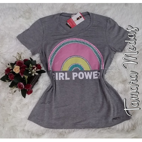 ed6f39ce27549 T-shirt Plus Size   Branca Exg 48 Ou Cinza M 42  Em Malha